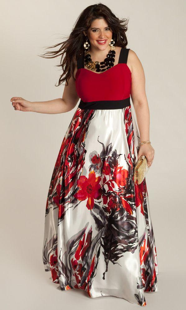 Vestidos preciosos de gala para chicas rellenitas