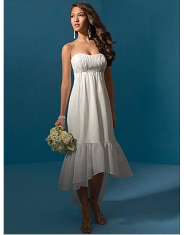 Vestidos sencillos ideales para una boda civil
