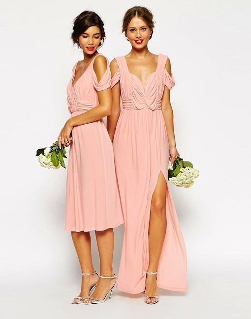 Vestidos muy elegantes para damas de honor 2015