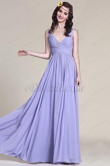 Magníficos vestidos largos para damas de honor