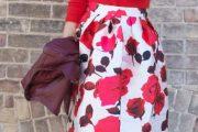 Looks con faldas tipo midi, magníficos modelos!