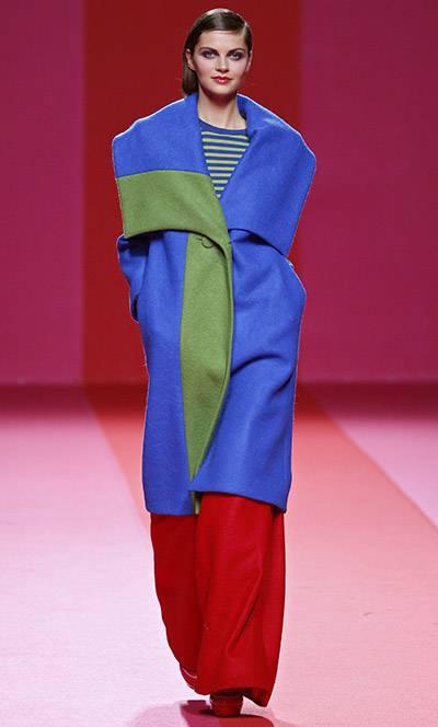 abrigos de colores invierno 2015