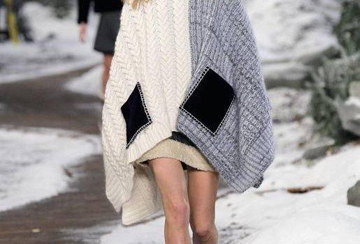 Abrigo de lana moda 2015