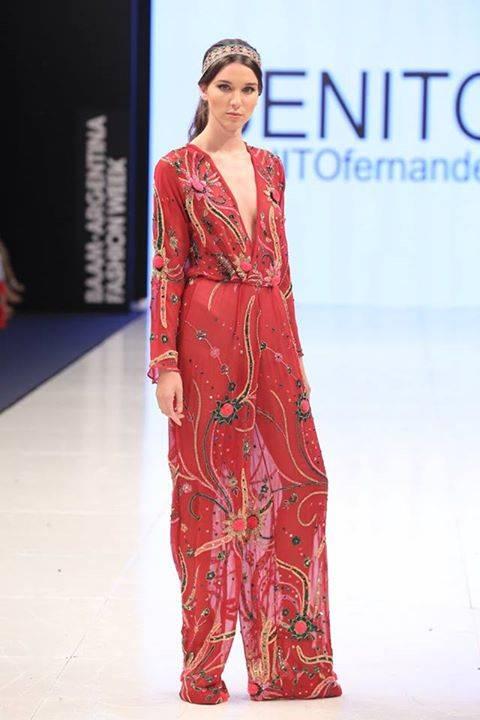 Vestidos de fiesta moda folk 2015