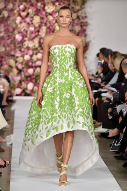 vestidos floreados primavera 2015