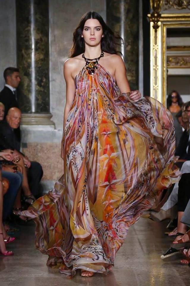 vestidos estampados estilo bohemio 2015
