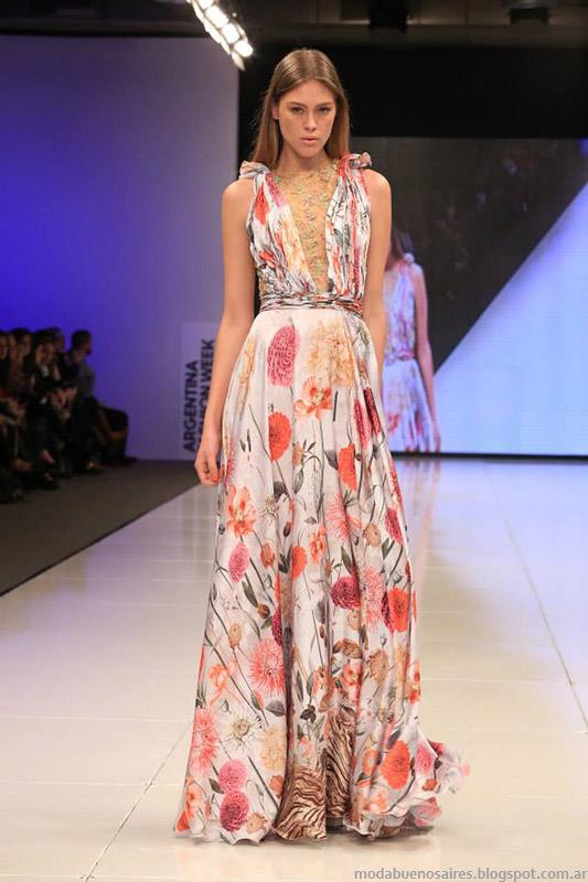vestidos largos de fiesta primavera verano 2015