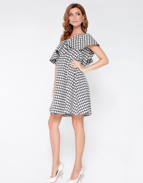 vestidos en blanco y negro