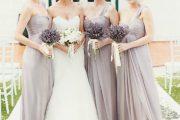 Colores de moda para el vestido de las damas de honor