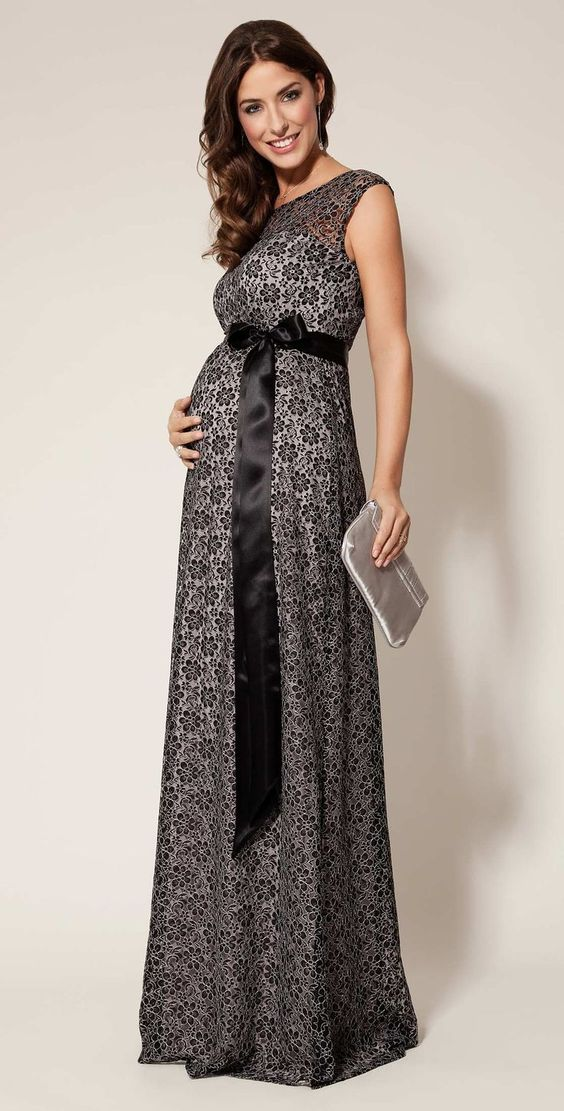 embarazada elegante