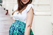 Fabulosos vestidos de moda para embarazadas