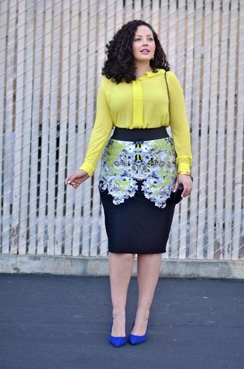 d9d43ed06 Ropa de oficina para gorditas de moda | AquiModa.com