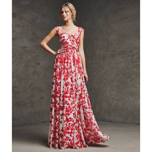 vestidos color rosa primavera verano