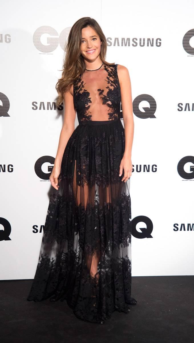 vestidos con transparencias de famosas