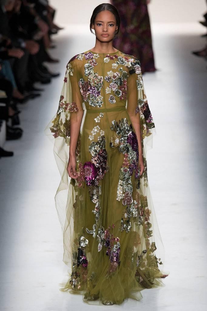 vestidos de fiesta con transparencias otoño invierno 2015