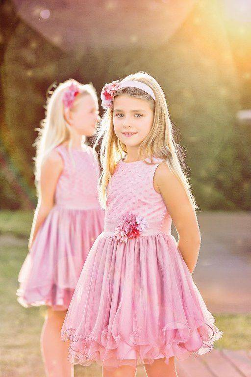 Vestidos de Fiesta para Niñas Temporada Primavera-Verano