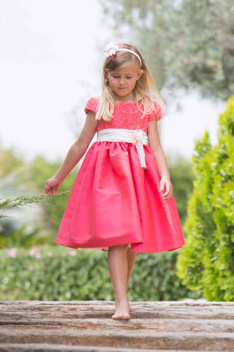 vestidos de fiesta para niñas primavera verano