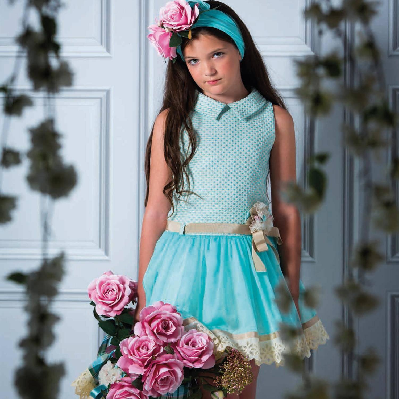5fe67a789 Vestidos de Fiesta para Niñas Temporada Primavera-Verano | AquiModa.com