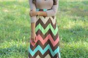Vestidos largos casuales elegantes 2015