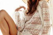 55 ideas para vestir en verano… con hermosos vestidos en color blanco