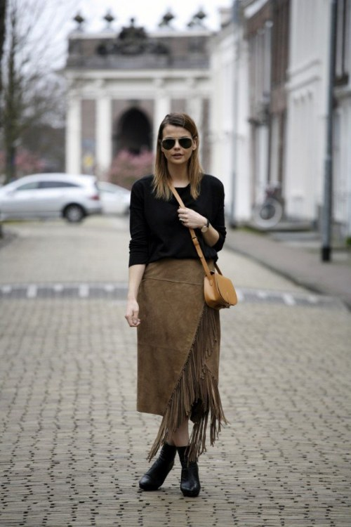 outfits gamuza otoño