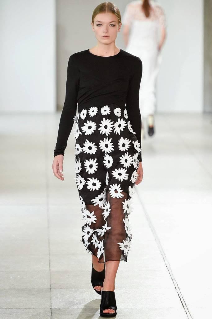ropa bicolor primavera verano 2015