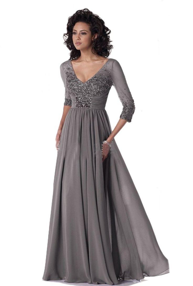 Vestidos de noche elegantes para senoras