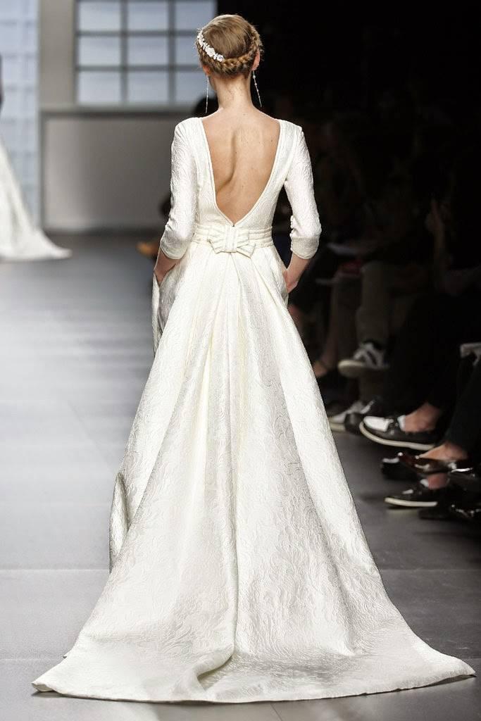 vestidos de novia coleccion barcelona bridal week 2015