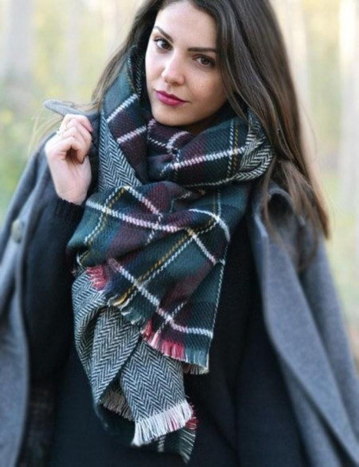 atuendos bufandas otoño