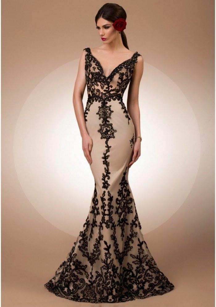 vestidos noche elegantes