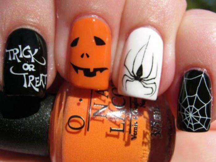 uñas halloween