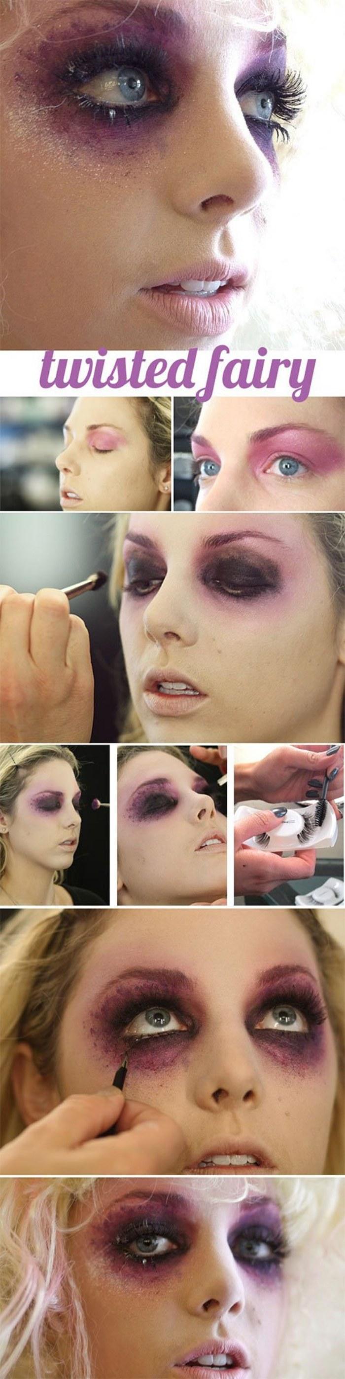 maquillaje facil halloween