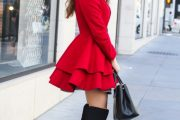 Outfits para usar con Botas a las rodillas para Otoño e Invierno 2015