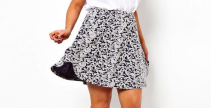 outfits faldas gorditas