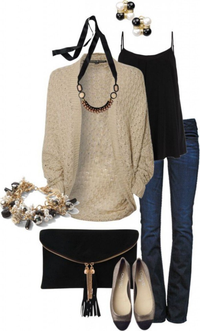 polyvore otoño outfits