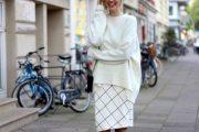 Dale un toque coqueto y con estilo a tus Outfits con un Suéter Blanco