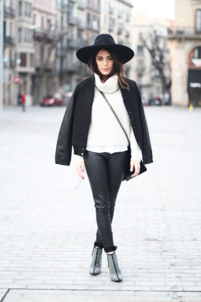 outfit sueter blanco