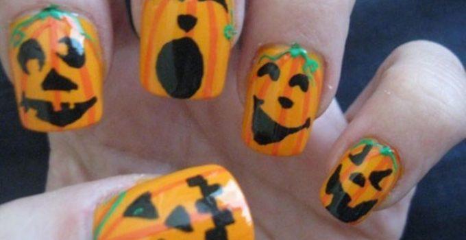 halloween unas