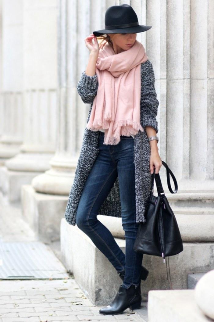 outfits bufandas
