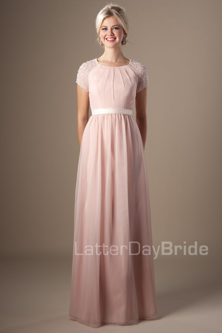 Vestidos de fiesta modestos y hermosos de moda | AquiModa.com