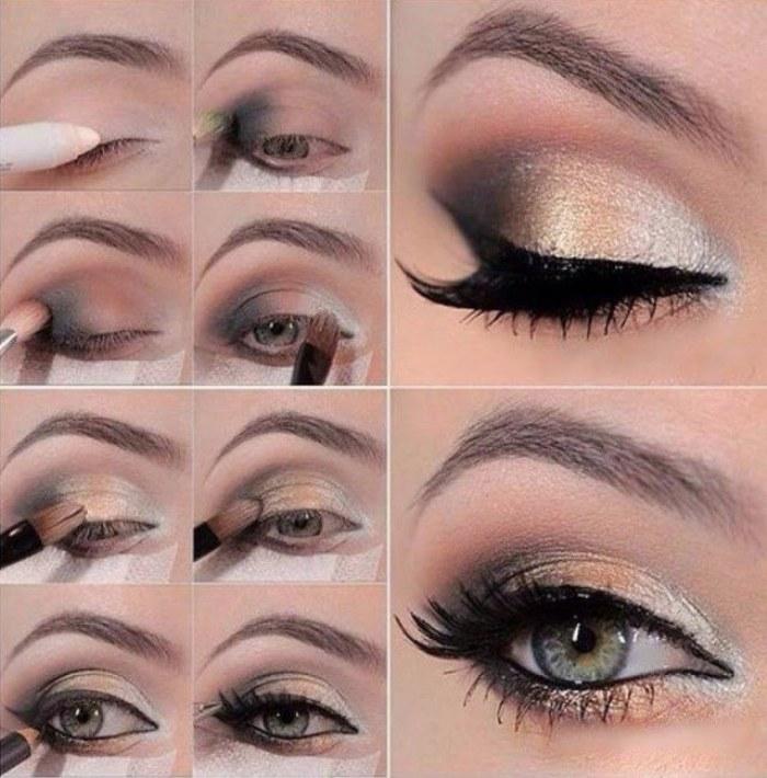maquillaje ojos tutorial