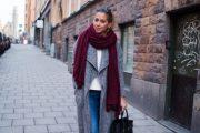 Vístete de color Borgoña porque es tendencia para Otoño e Invierno 2015