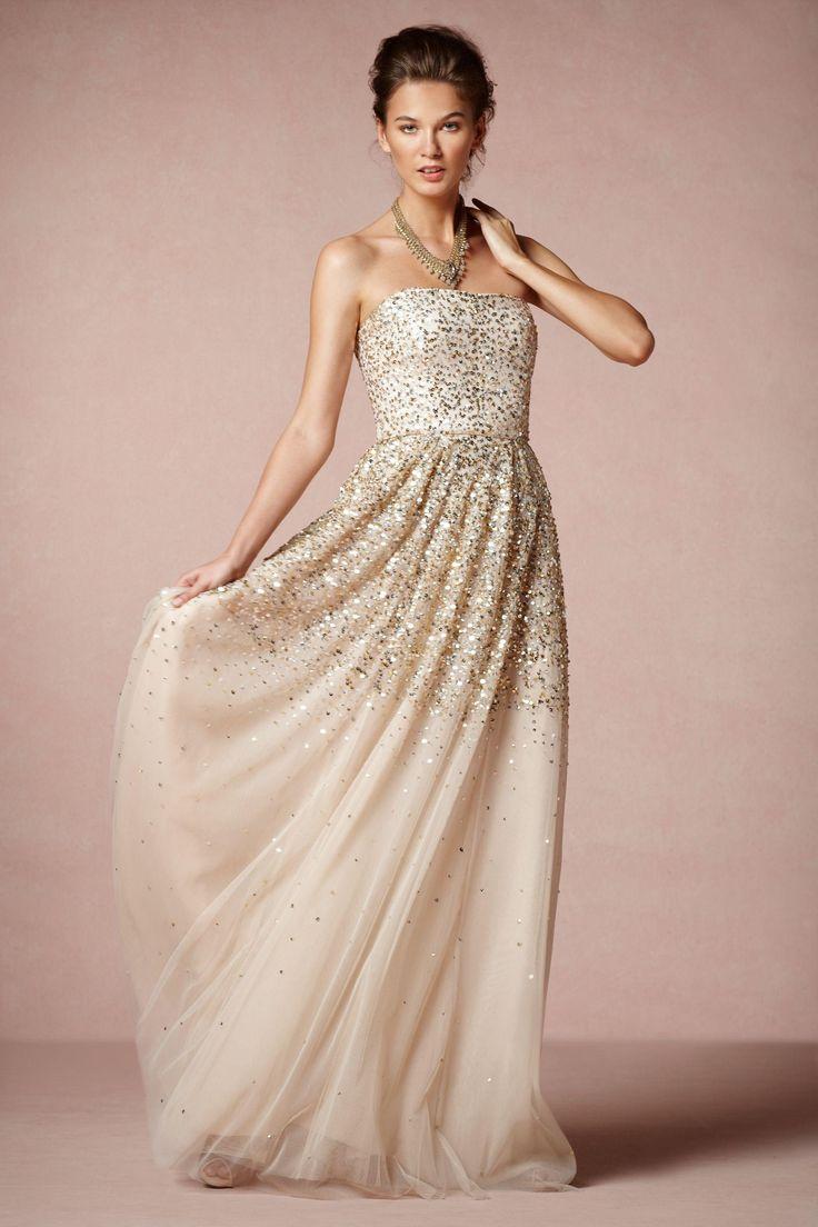 Fabulosos vestidos de fiesta color piel, te van a encantar ...