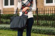 Outfits con prendas Tartán, la tendencia de Otoño e Invierno 2015