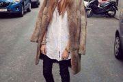 Maneras elegantes para vestir Abrigos Peludos en este Invierno 2015-16