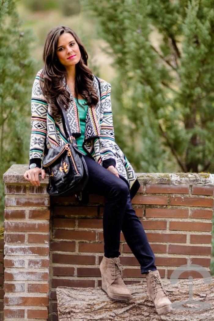 moda estampado azteca