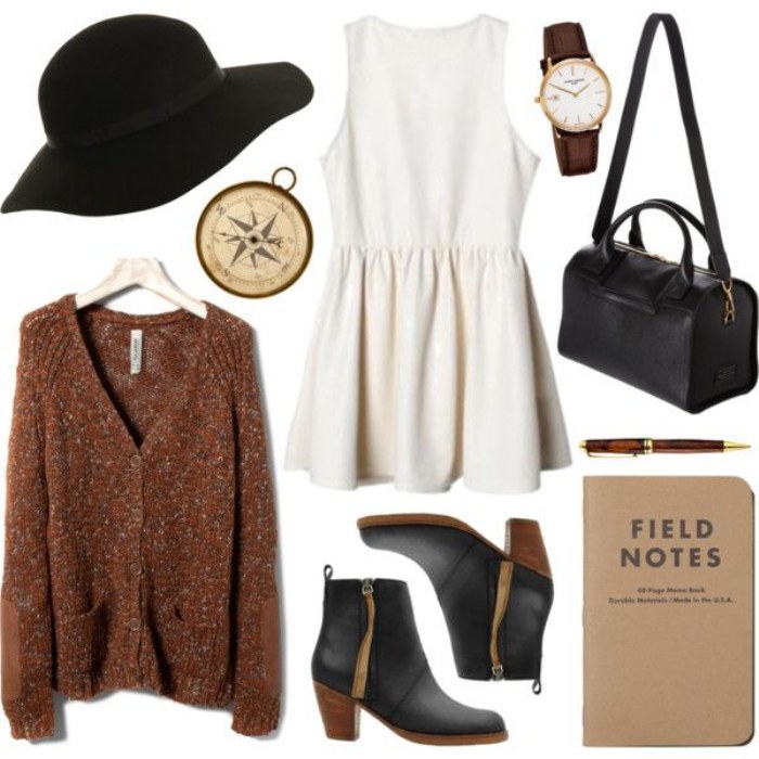 polyvore moda invierno