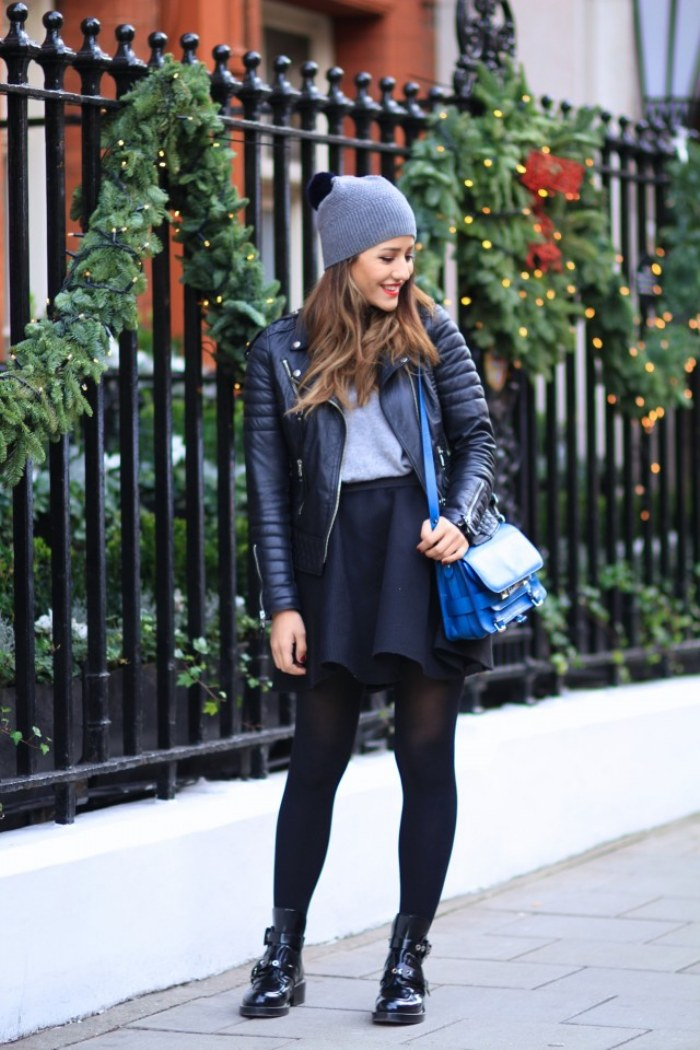 outfits con beanies