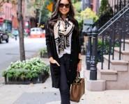 10 Coquetas maneras para vestir Pantalones Negros en esta temporada