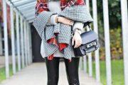 10 Maneras coquetas para llevar Ponchos o Capas para este Invierno 2015